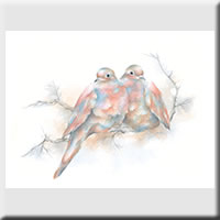 Mourning Doves Print